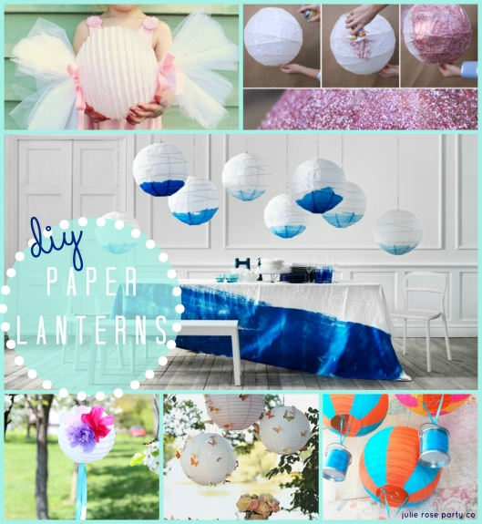 Six Great Ways To Decorate With Paper Lanterns!
